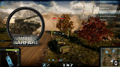 Game online android 2018 Armored Warfare