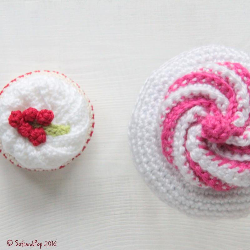 Petites Pâtisseries au crochet - www.softandpop.blogspot.fr