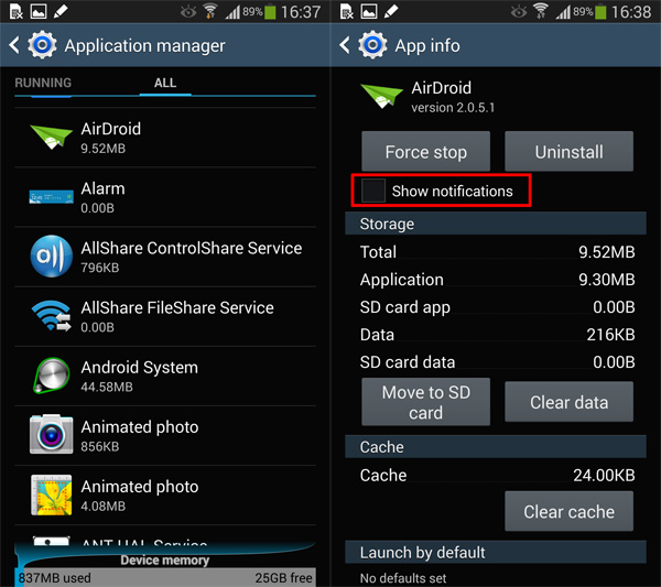 Disable Annoying App Notifications On Android (5.0