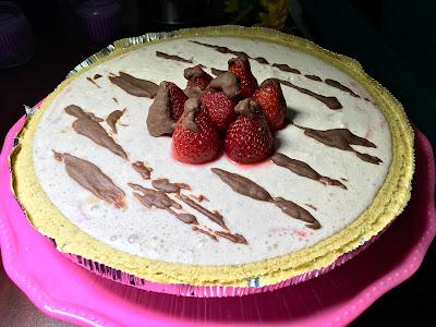 Receta Cheesecake Fresa