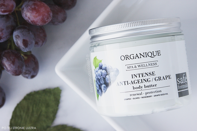 organique intensive anti-ageing grape body butter