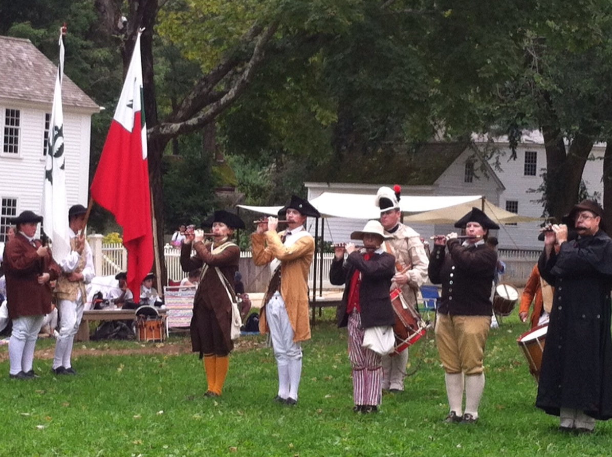 Francois Illas New Tradition: Boston 1775: Fifes And Drums At Sudbury, 29 Sept