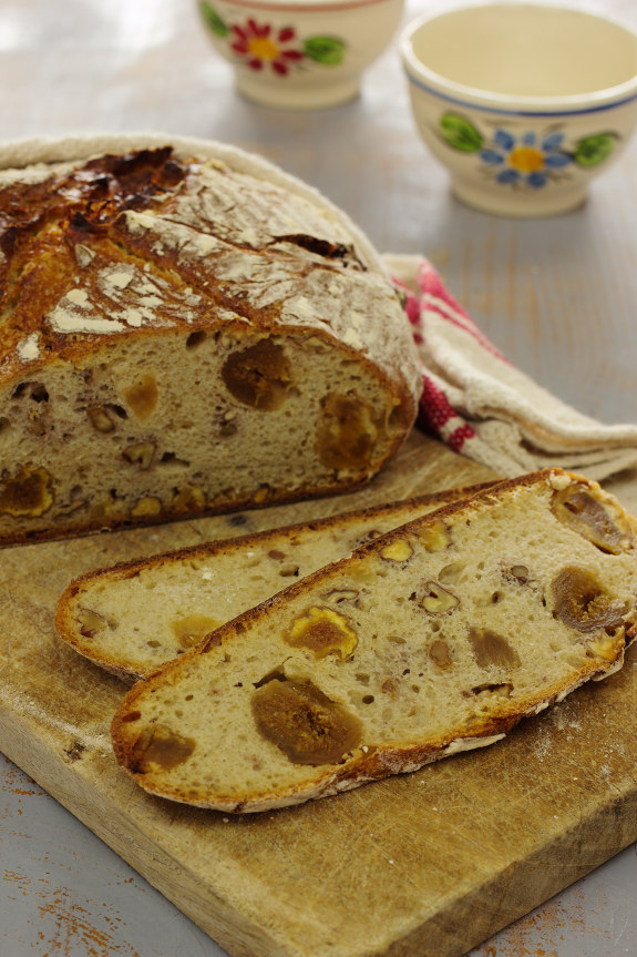 Cinco Quartos de Laranja: Vamos fazer Pão: Pão com figos ...