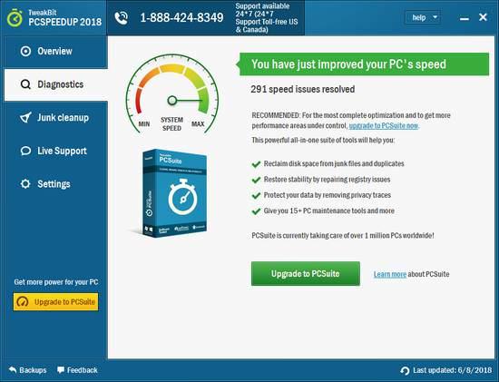 tweakbit pcspeedup 2018 license key free