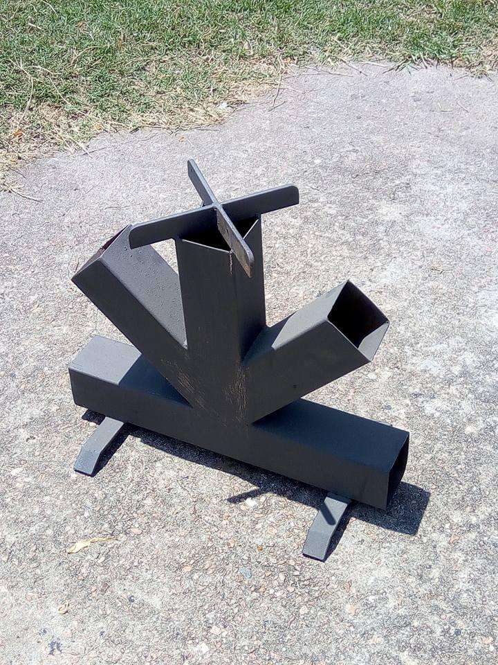 C mo hacer una estufa rocket for Planos para construir una cocina de lena