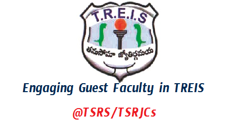 TREIS Engaging Guest Faculty as PGTs in TSRS/TSRJCs - Get Details Here  Telangana Residential Educational Institutions Society inviting Applications from eligible candidates for Guest Faculty in up graded TSR Schools into Intermediate Level from the Academic Year 2018-19 Engaging Guest Faculty as PGTs total vacancies 135 Posts in 27 Schools. Last date to Submit Application Form Manually ( Not Online ) to District Co Ordinators Get Complete details here treis-engaging-guest-faculty-as-pgts-in-tsrs-tsrjc-details