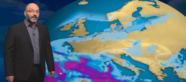 Αρναούτογλου: Επιστρέφουν οι χιονοπτώσεις (βίντεο)