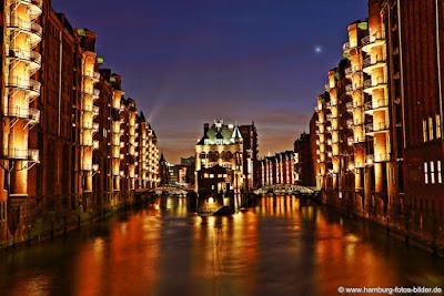 Speicherstadt Hamburg ist UNESCO Weltkulturerbe in Deutschland