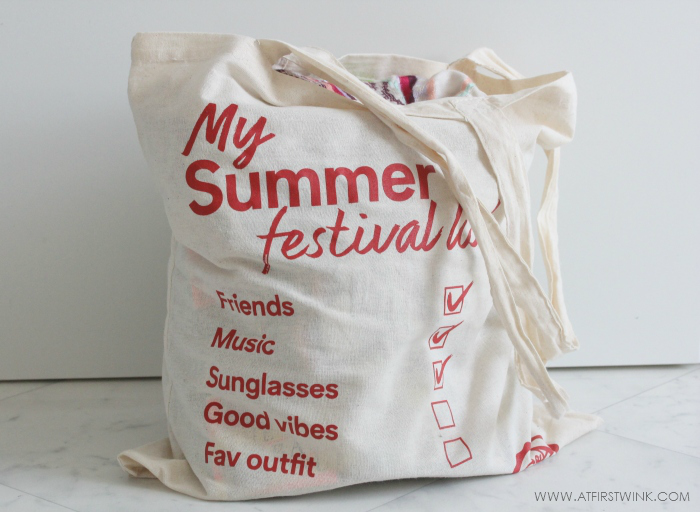 Goodiebag from the C&A Summer Fashion Festival