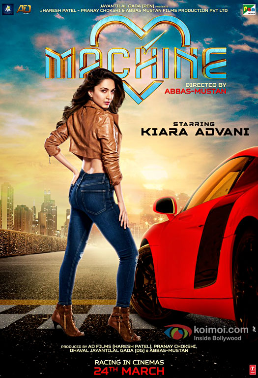 Machine next upcoming movie first look, Poster of Mustafa Burmawalla, Kiara Advani download first look Poster, release date