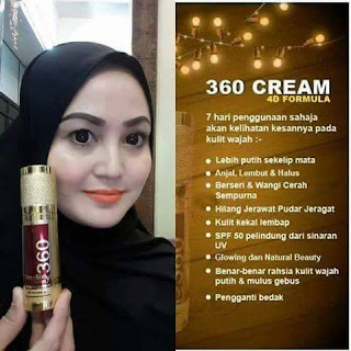 THREE SIXTY CREAM 360 4D FORMULA