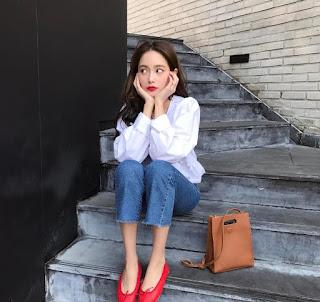 giày nữ đế bệt