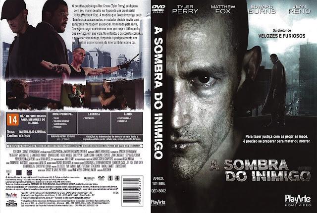 Capa DVD A Sombra do Inimigo