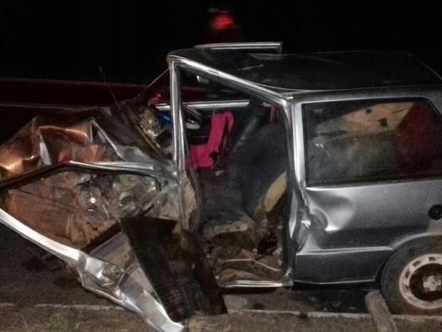 Colisão entre dois carros deixa 16 pessoas feridas em Araripina, PE