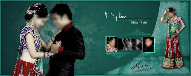 Wedding Photo Album DM Design