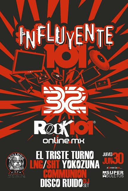 Rock101 celebra con buen cartel sus 32 años