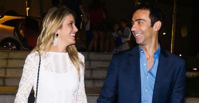Ticiane Pinheiro termina namoro com jornalista da Globo, César Tralli
