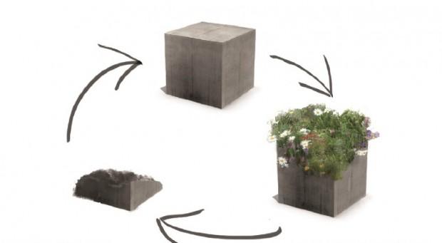 Abes Sp Brit 226 Nicos Criam Cimento Biodegrad 225 Vel Que Cultiva Plantas E