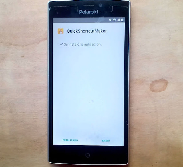 instalar QuickshortcutMaker