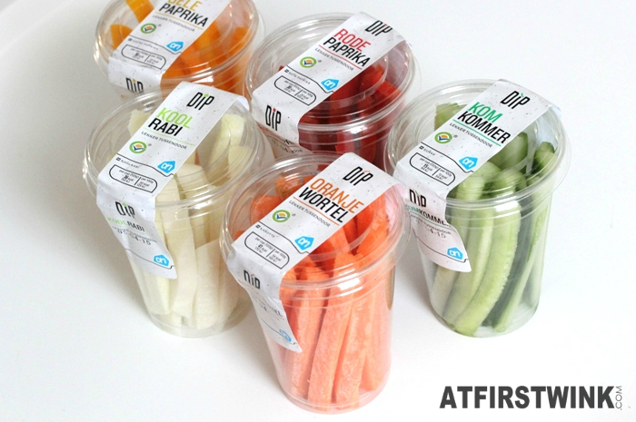 Albert Heijn healthy dippers bekers