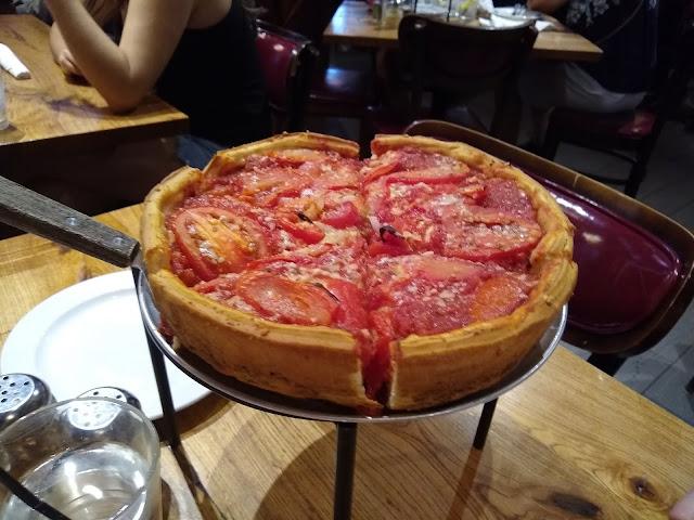 Чикагская пицца