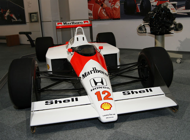 McLaren-Honda MP4/4 1980s F1 car