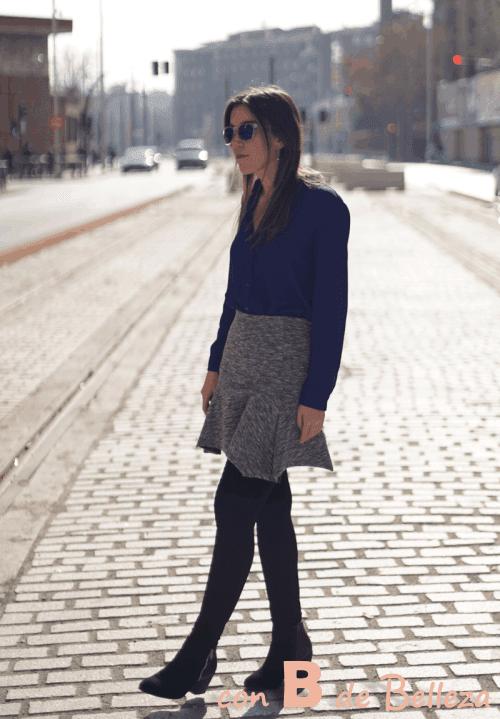 Cómo combinar falda y blusa