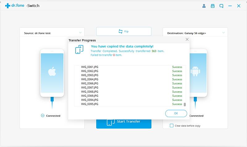 aplicacion para transferir contactos de iphone a samsung