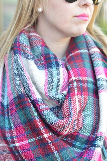 hot-pink-blanket-scarf