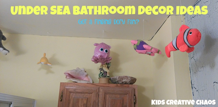 dory bathroom decor ideas for kids