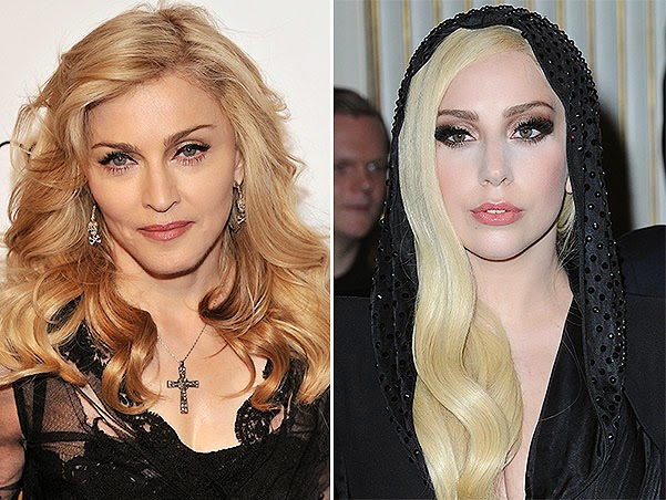 Madonna in the new song criticizes Lady Gaga