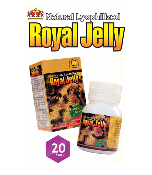 Natural Royal Jelly Nasa