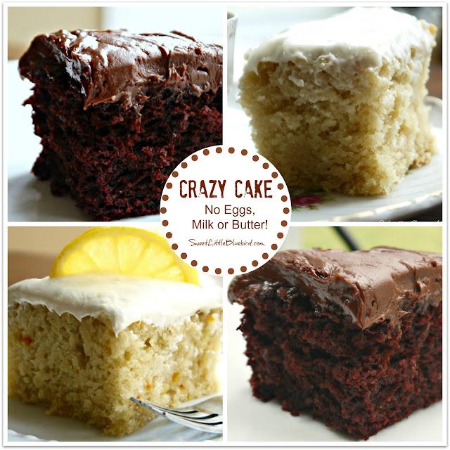 Crazy Chocolate Cake With Vinegar