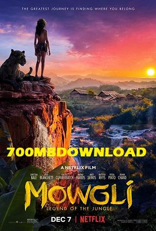 Mowgli Legend of the Jungle 2018 Dual Audio Hindi 300MB HDRip 480p