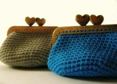 Monedero de Crochet para armazón Patrón