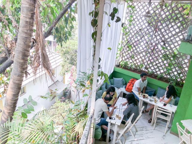 yoga cafe bandra mumbai photo