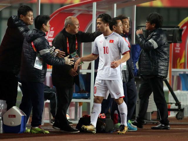 U23 Việt Nam thắng Syria: HLV Park Hang Seo cấm Công Phượng làm gì? 8