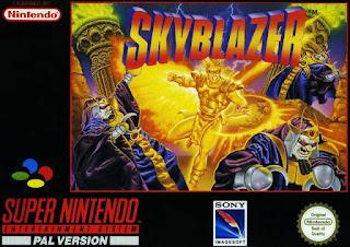 Skyblazer (BR) [ SNES ]