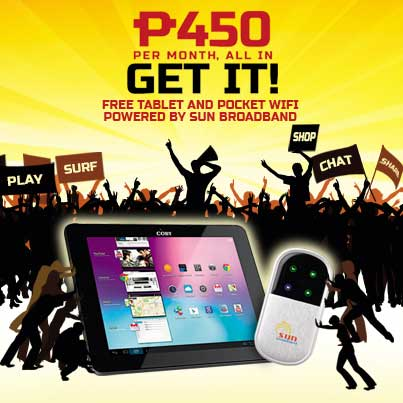 Sun Cellular offers Coby Kyros 8065 tablet and Pocket WiFi free at Sun Plan 450