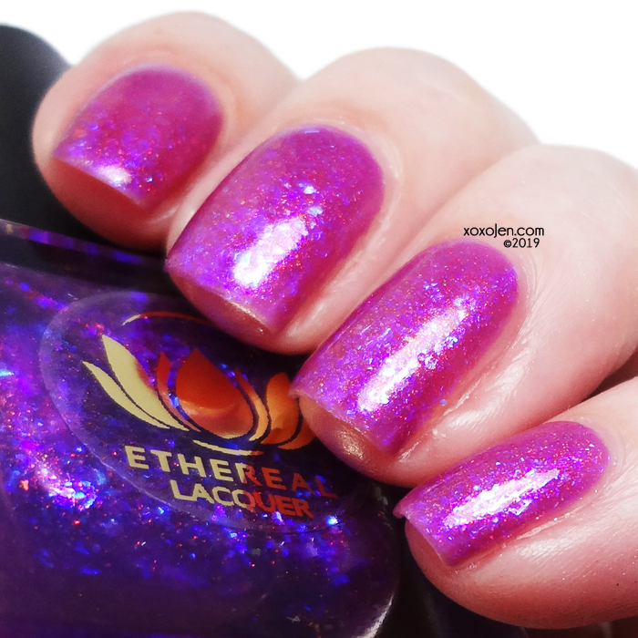 xoxoJen's swatch of Ethereal Lacquer Flame Trance