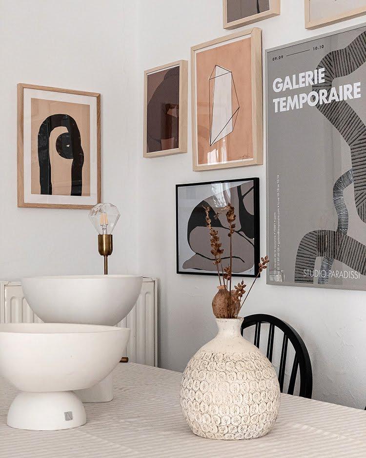 Studio Paradissi Gallery Wall