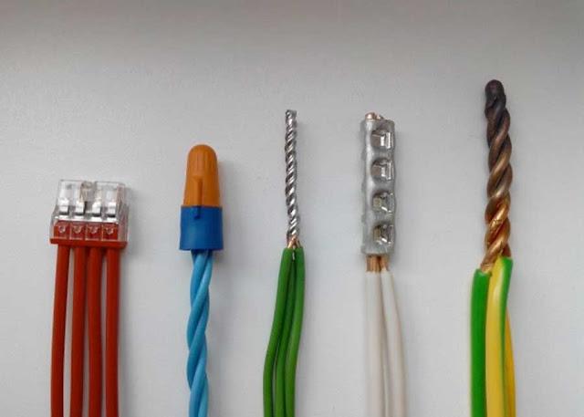 Часто используемые соединения проводов