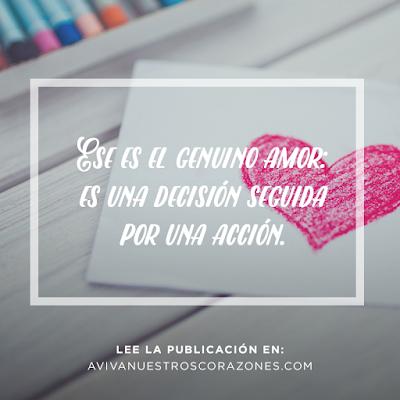 El consejo de un sabio: amar es una decisión