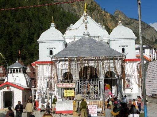 Gangotri Temple. Uttarkashi, Uttarakhand India