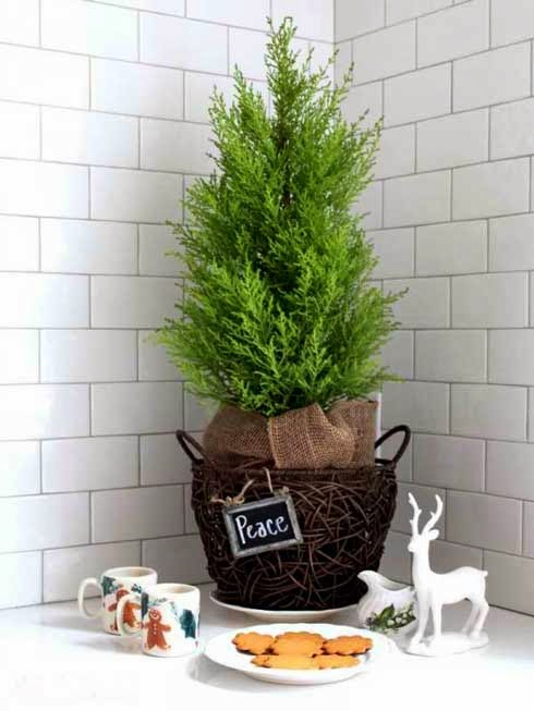 CHRISTMAS TREES MADE FOR SMALL SPACES ~ Interior Design ...