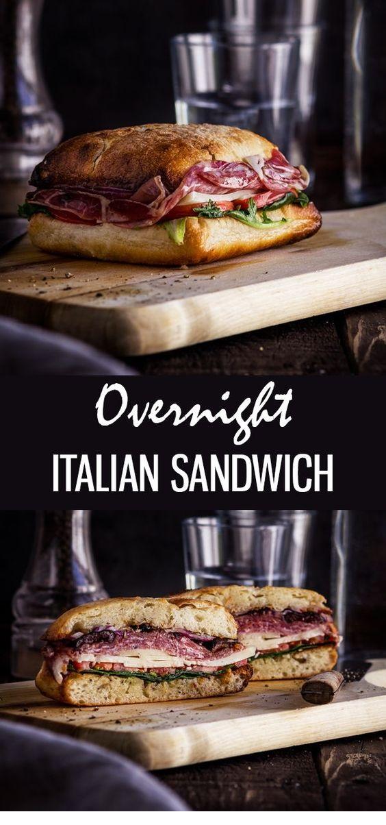 Famous New Orleans Easy Muffuletta Sandwich Recipe
