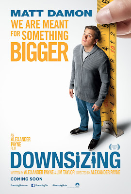 Downsizing 2017 Eng 720p HC HDRip 600Mb ESub HEVC x265