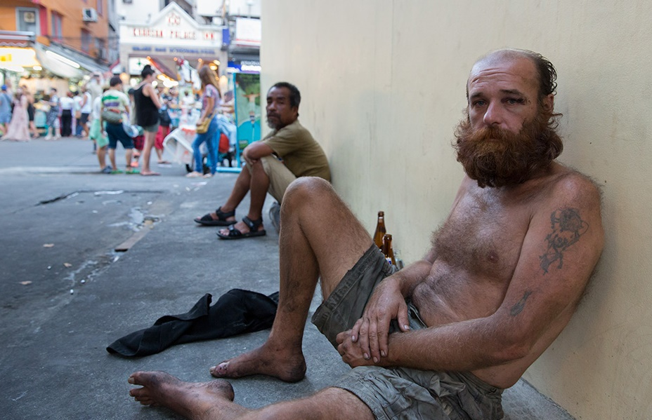 homeless in thailand