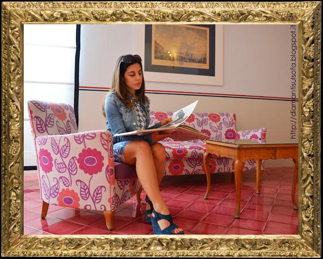 Hotel della Regina Isabella - soggiorno