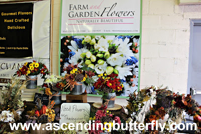 Farm and Garden Flowers, The Artisan Exchange, Indoor Farmers Market, BrandyWine Valley, #BVFoodie
